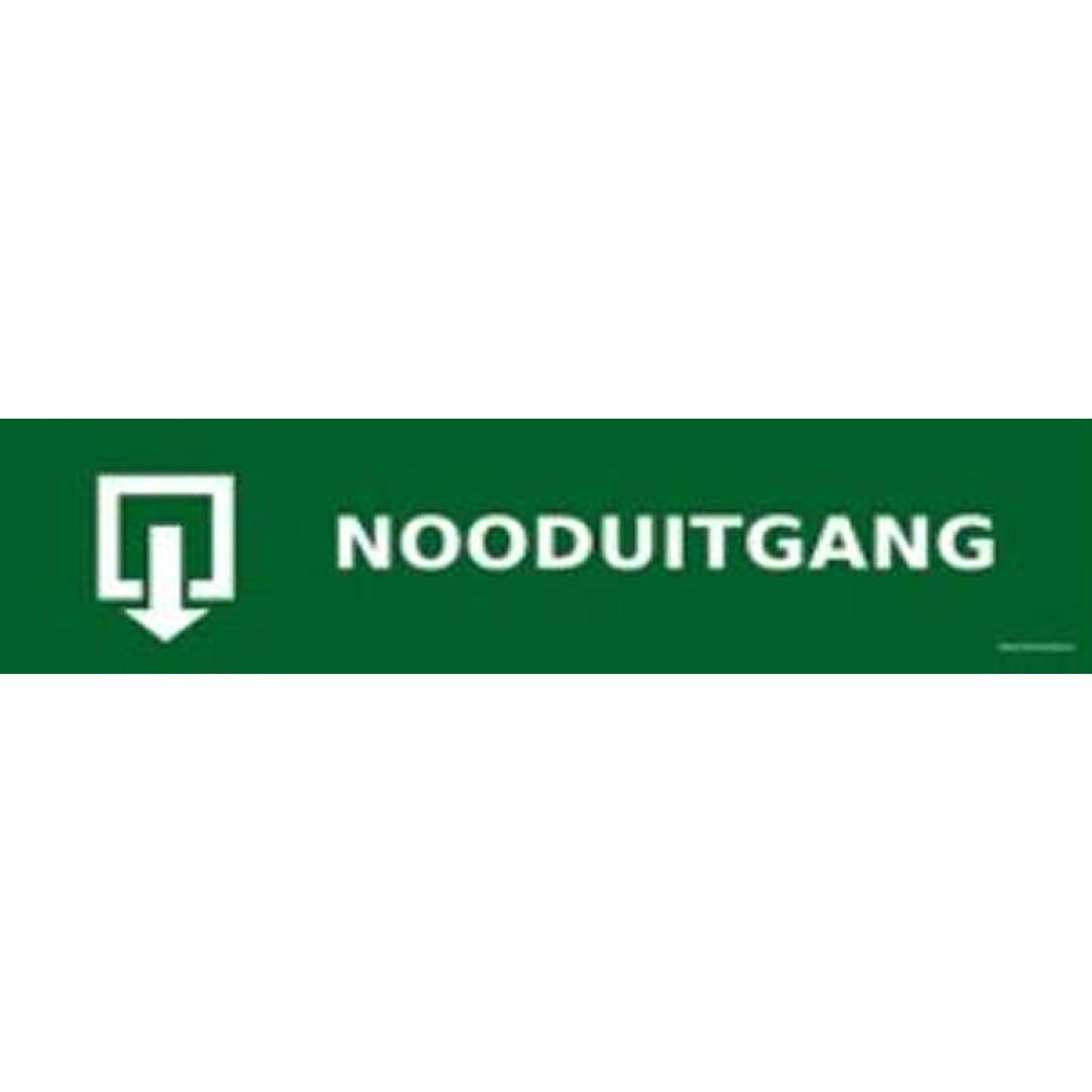 banner nooduitgang