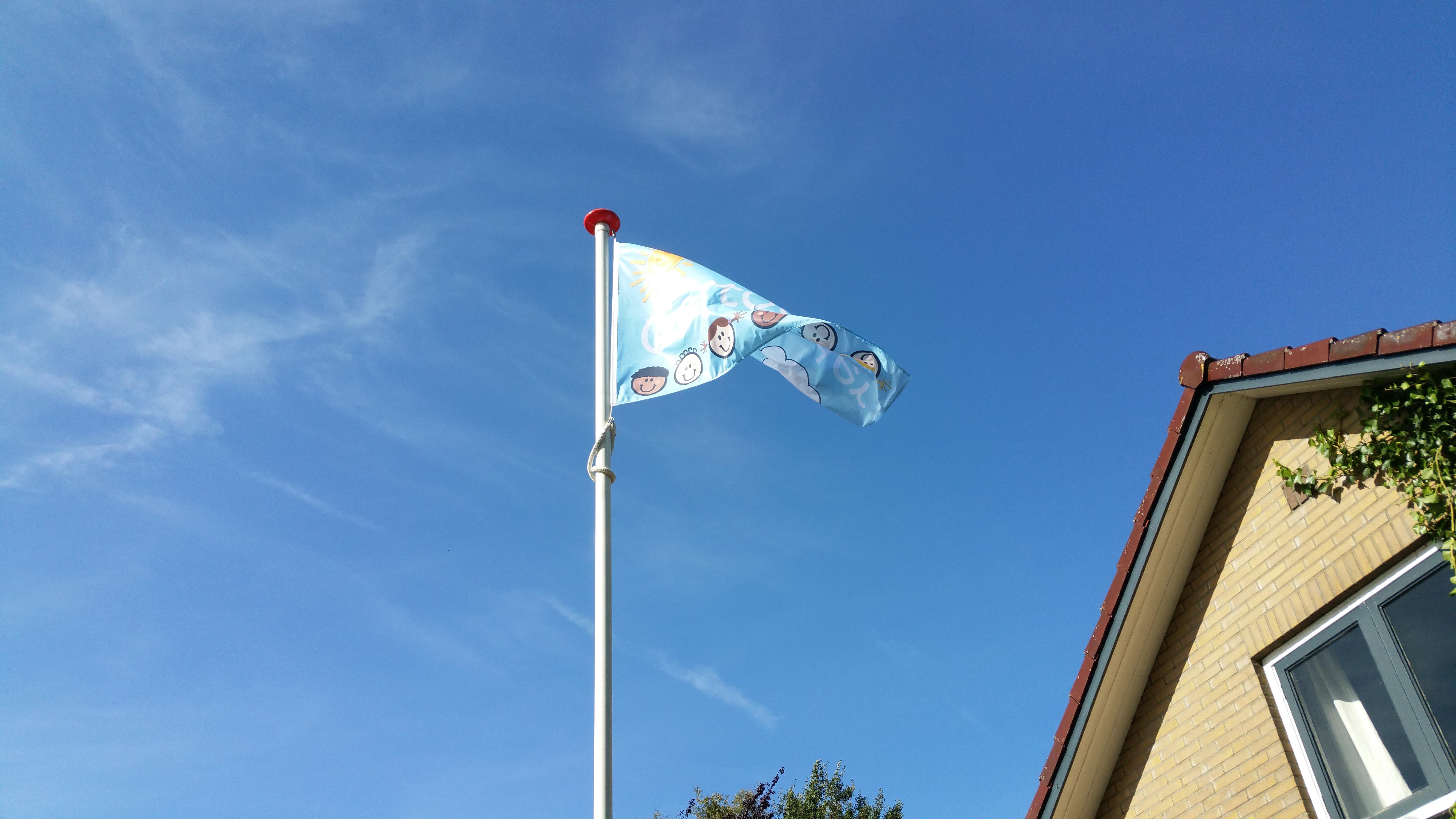 Evento Vlaggenmast huren banier vlaggenmasten