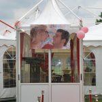Pagodetent aluhal feesttent paviljoen partytent spantent huren Evento