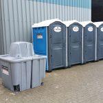Toilet wc dixi Wagen unit douche plaszuil huren Evento